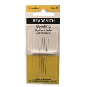 English Beading Needle #13