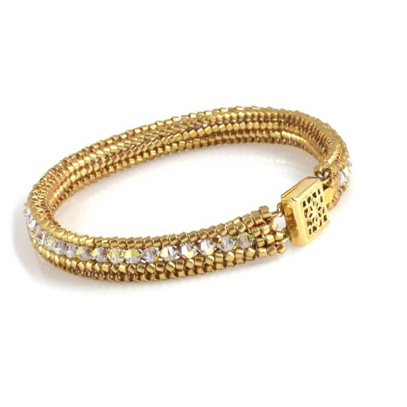 Tennis Bracelet Gold Colorway
