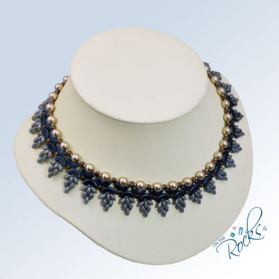 Wisteria Necklace Kit Blue